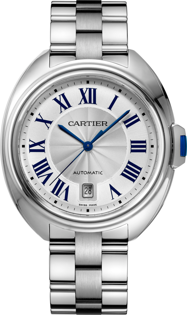 Clé de Cartier watch40mm, automatic movement, steel