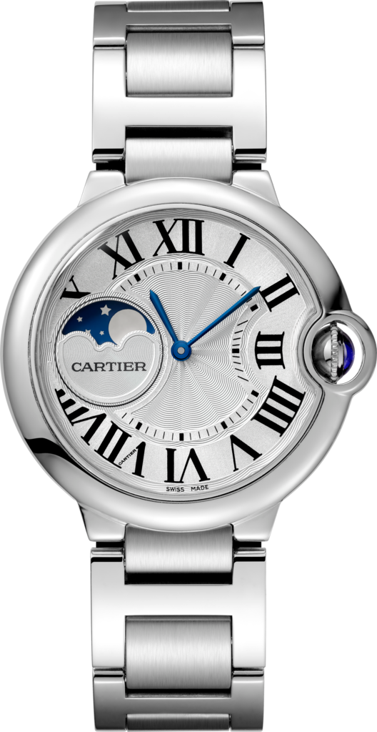 Ballon Bleu de Cartier watch37mm, automatic movement, steel
