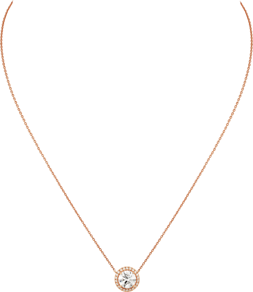 Cartier Destinée CollierRoségold, Diamanten