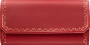 Guirlande de Cartier international wallet with flap