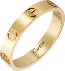 Love wedding band Yellow gold