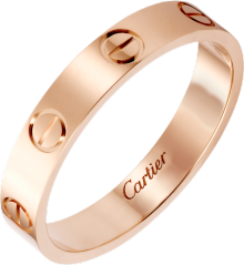 Love wedding band Rose gold