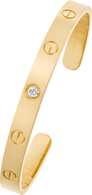 Bracelet Love 1 diamant Or jaune, diamant