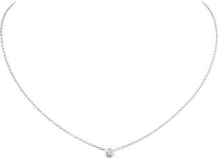 Diamants Légers necklace, LM White gold, diamond
