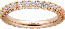 Étincelle de Cartier wedding ring Rose gold, diamonds